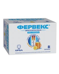 Buy cheap Paracetamol, Fenyramyn, ascorbic acid | Fervex powder for solution for oral administration lemon sugar-free sachets 8 pcs. online www.buy-pharm.com