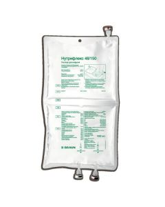 Buy cheap amino acids for parenteral POWER   Nutriflex 48/150 lipid emulsion for infusion 1000 ml containers built 5 pcs. online www.buy-pharm.com