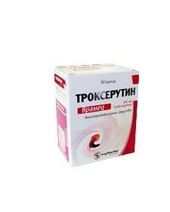 Buy cheap Troxerutin | Troxerutin Vramed capsules 300 mg, 50 pcs. online www.buy-pharm.com