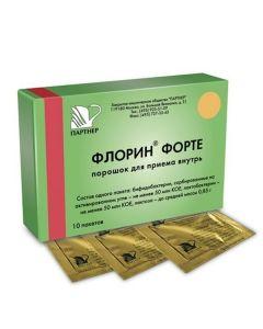 Buy cheap bifidobacteria bifidum, Lactobacilli plantarum   Florin forte sachets 850 mg 10 pc. online www.buy-pharm.com