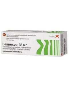 Buy cheap Nalmefen | Selinkro tablets is covered.pl.ob. 18 mg 14 pcs online www.buy-pharm.com