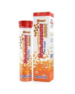 Buy cheap Multivitamins | Multivita plus effervescent tablets, 20 pcs., online www.buy-pharm.com