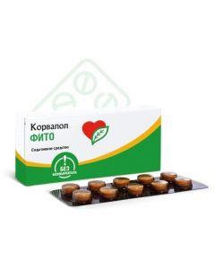 Buy cheap Myat perechnoy lystev oil Pust rnyka trav ekstrakt, etylbromyzovaleryanat | Corvalol Phyto tablets 1.16mg + 28mg + 16.4mg 50 pcs. online www.buy-pharm.com