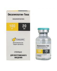 Buy cheap oxaliplatin | Oxaliplatin-Teva conc. for solution for infusions 5 mg / ml 20 ml bottle 1 pc. online www.buy-pharm.com