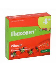 Buy cheap Polyvytamyn | Pikovit tablets, 30 pcs. online www.buy-pharm.com