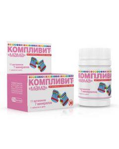 Buy cheap Polyvytamyn , Minerals | Complivit Mom tablets, 30 pcs. online www.buy-pharm.com