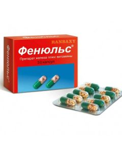 Buy cheap Polyvytamyn , Myneral   Fenyuls capsules, 30 pcs. online www.buy-pharm.com