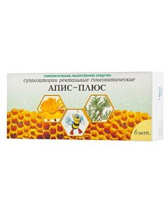 Buy cheap bacteriophage Klebsiella | Apis-plus rectal suppositories, 6 pcs. online www.buy-pharm.com