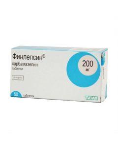 Buy cheap Carbamazepine | Finlepsin tablets 200 mg 50 pcs. online www.buy-pharm.com