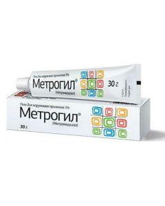 Buy cheap metronidazole   Metrogyl gel, 30 g online www.buy-pharm.com