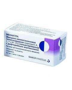 Buy cheap vaccine menynhokokkovaya polysaharydnaya (Serohrupp A, C, Yy W-135) konСЉyuhyrov with dyfteryyn m toxoid | Menaktra solution for in / m vvv. 0.5 ml / dose fl. 0 5 ml online www.buy-pharm.com
