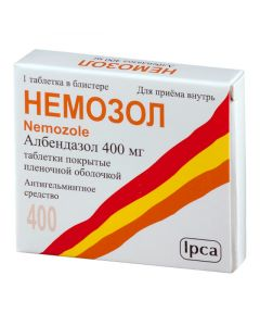 Buy cheap Albendazole | Nemozole tablets 400 mg, 1 pc. online www.buy-pharm.com