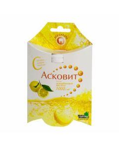 Buy cheap Askorbynovaya kyslota | Ascovite effervescent tablets, lemon 1 g, 10 pcs. online www.buy-pharm.com