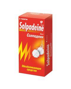 Buy cheap caffeine, paracetamol | Solpadein Fast soluble tablets 8 pcs. online www.buy-pharm.com