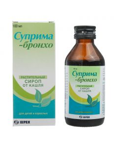 Buy cheap drug rastitelno origin | Suprima-Broncho syrup, 100 ml online www.buy-pharm.com