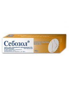Buy cheap Ketoconazole | Sebozole ointment 2%, 15 g online www.buy-pharm.com