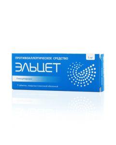 Buy cheap Levocetirizine | Elcet tablets coated. 5 mg 7 pcs online www.buy-pharm.com