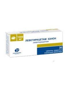 Buy cheap levetiracetam | Levetiracetam Canon tablets are coated. 1000 mg 30 pcs. online www.buy-pharm.com
