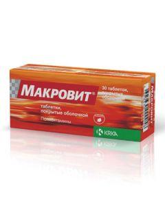 Buy cheap Multivitamins   Macrovit tablets, 30 pcs. online www.buy-pharm.com