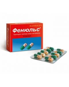 Buy cheap Multivitamins, Minerals   Fenyuls capsules, 10 pcs. online www.buy-pharm.com