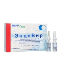 Buy cheap Vaccine for Prevention kleschevoho entsefalyta | Encevir suspension for v / m introduced 0.5 ml ampoules of 10 pcs. online www.buy-pharm.com