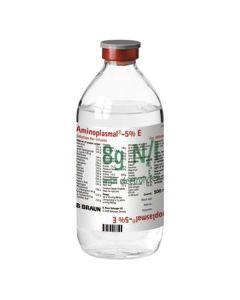 Buy cheap amino acids for parenteral POWER, Prochye Preparations Myneral | Aminoplasmal B. Brown E 5 infusion solution 500 ml (8 g nitrogen / l) vials 10 pcs. online www.buy-pharm.com