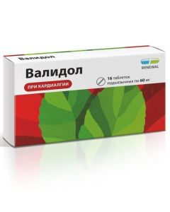 Buy cheap levomenthol solution in mentyl isovalerate | Validol Renewal tablets 60 mg 16 pcs. online www.buy-pharm.com