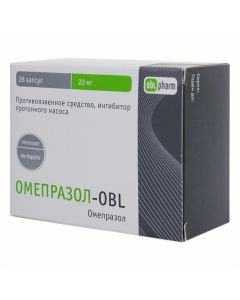 Buy cheap Omeprazole | Omeprazole-OBL capsules 20 mg 28 pcs. online www.buy-pharm.com