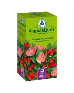 Buy cheap Shypovnyka plod | Rosehip fruit filter packs 2 g, 20 pcs. online www.buy-pharm.com