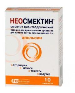 Buy cheap smectite dyoktaedrycheskyy   Neosmectin sachets 3 g, 10 pcs. orange online www.buy-pharm.com