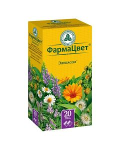 Buy cheap calendula medicine flowers, chamomile flowers, licorice roots, licorice roots, licorice roots, licorice evkalypta lystya | Elekasol collection filter bags 2 g, 20 pcs. online www.buy-pharm.com