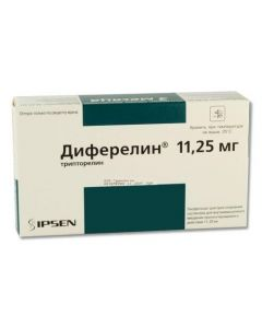 Buy cheap Tryptorelyn   Diferelin lyophilisate 11.25 mg + solvent + syringe + 2 needles online www.buy-pharm.com