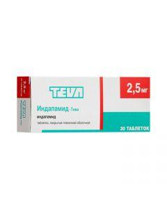 Buy cheap indapamide | Indapamide-Teva tablets coated. 2.5 mg 30 pcs. online www.buy-pharm.com
