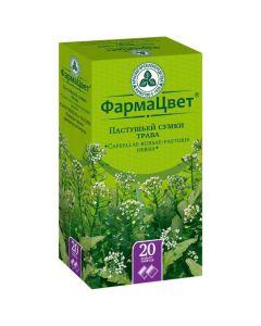 Buy cheap Pastushey bag grass | Shepherd's bags grass filter bags 1.5 g 20 pcs. online www.buy-pharm.com