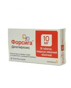 Buy cheap Dapahlyflozyn | Forsig tablets are covered.pl.ob. 10 mg 30 pcs. online www.buy-pharm.com