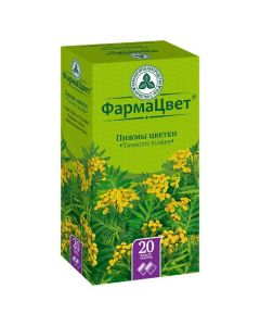 Buy cheap Pyzhm ob knovennoy tsvetky | Tansy flowers filter bags 1.5 g, 20 pcs. online www.buy-pharm.com