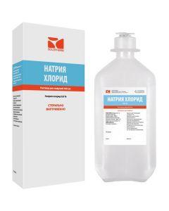 Buy cheap Sodium chloride | Sodium Chloride-SOLOpharm Polyflack Domus solution for infusion 0.9% plastic bottles 400 ml online www.buy-pharm.com