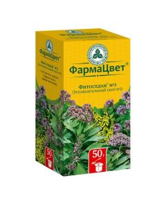 Buy cheap valerian, donnik, oregano, thyme, herb | Phytosedan No. 3 soothing collection of filter bags 2 g, 20 pcs. online www.buy-pharm.com