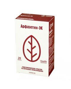 Buy cheap Zveroboya grass Daisies tsvetky, Fasoly leaf, horsetail herb, Chernik PoBeGi, Shypovnyka plod , eleute   Arfazetin-EK filter bags 2 g, 20 pcs. online www.buy-pharm.com