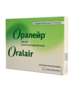 Buy cheap herb pollen allergens | Oraleur Allergen meadow grass pollen maintenance course, tablets, 90 pcs. online www.buy-pharm.com