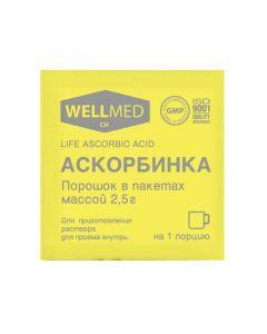Buy cheap Ascorbic acid   Wellmed ascorbic acid sachets 2.5 g online www.buy-pharm.com