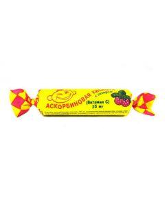 Buy cheap Askorbynovaya kyslota | Ascorbic acid twist Raspberry, 10 pcs. online www.buy-pharm.com