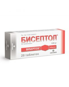 Buy cheap Co-trimoxazole Sulfamethoxazole, Trimetoprim   Biseptol tablets 120 mg, 20 pcs. online www.buy-pharm.com