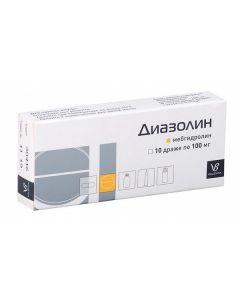 Buy cheap mebhydrolin | Diazolin tablets 100 mg, 10 pcs. online www.buy-pharm.com