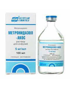 Buy cheap metronidazole | Metronidazole-Akos bottles of 500 mg, 100 ml online www.buy-pharm.com