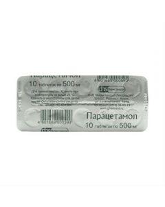 Buy cheap Paracetamol   Paracetamol tablets 500 mg 10 pcs. online www.buy-pharm.com