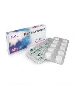 Buy cheap Paracetamol | Paracetamol tablets 500 mg 20 pcs. online www.buy-pharm.com