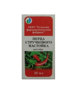 Buy cheap pepper cayenne fruit tincture | Pepper capsicum tincture 25 ml online www.buy-pharm.com