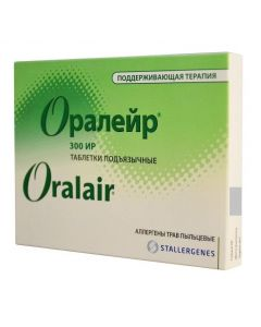 Buy cheap herb allergens pollen | Oraleur Allergen meadow grass pollen maintenance course, tablets, 30 pcs. online www.buy-pharm.com