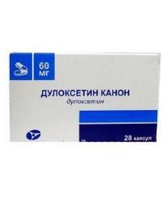 Buy cheap duloxetine | Duloxetine Canon capsules kish.rast. 60 mg 28 pcs. online www.buy-pharm.com